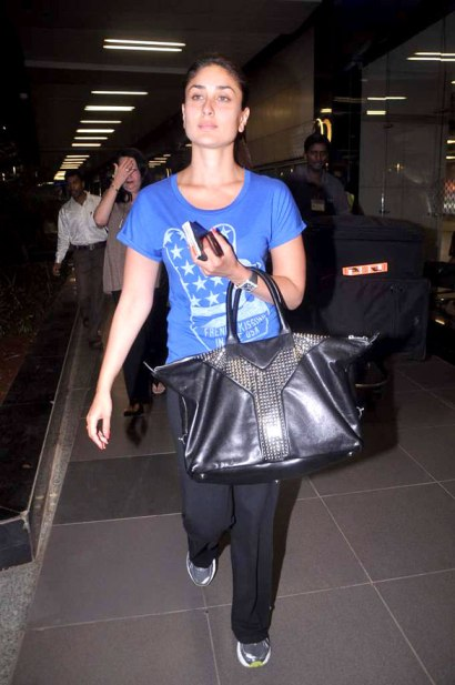Kareena Kapoor YSL bag