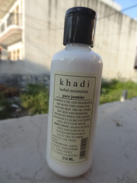 Khadi Herbal Pure Jasmine Moisturizer