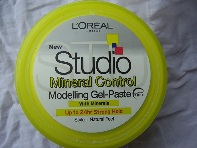 L'Oreal Studio Mineral Control Modelling Gel Paste