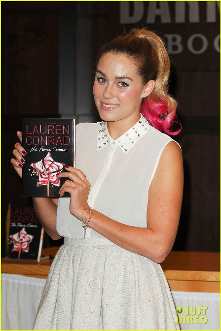 Lauren Conrad at the signing of her new book 'The Fame Game' at Barnes & Noble bookstore at The Grove Los Angeles, California - 24.04.12 Mandatory Credit: Apega/WENN.com