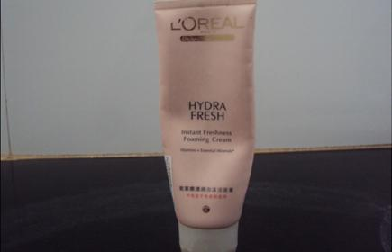 Loreal+Hydra+Fresh+Instant+Foaming+Cream