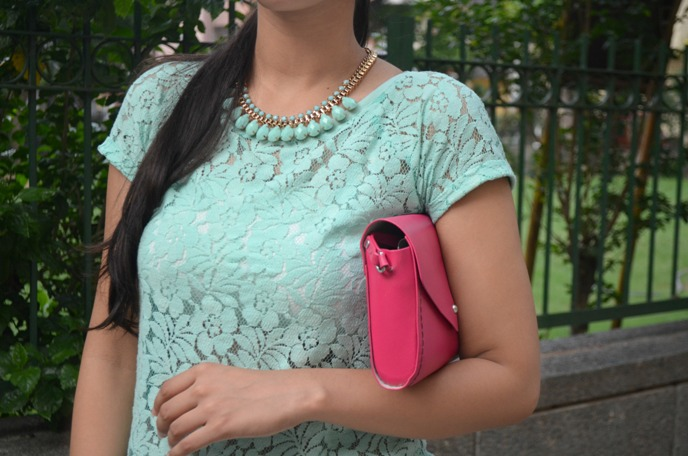 Mint-Lace-Top-with-Statement-Necklace-2