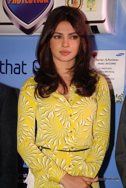 Priyanka Chopra in yellow dress