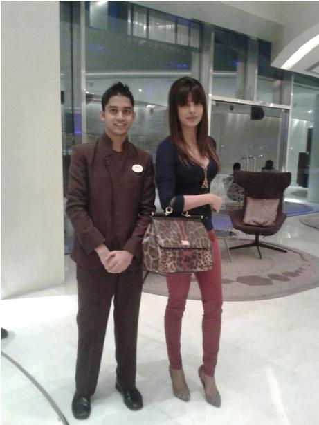 Priyanka Chopra luxury bag