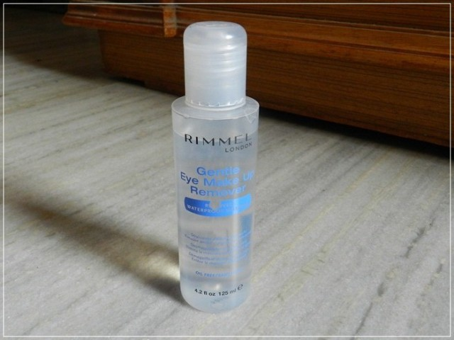 rimmel london makeup remover