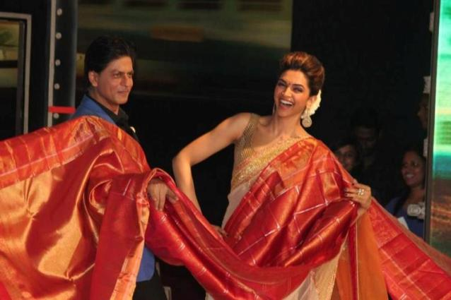 SRK and Deepika Padukone saree