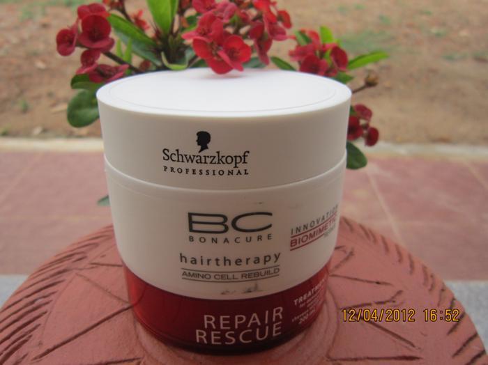 Schwarzkopf+Bonacure+Repair+Rescue+Treatment+Hair+Mask