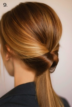 Stylish office hairstyle 2