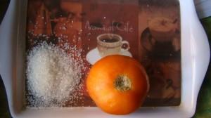 sugar tomato scrub