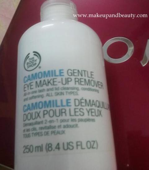 the body shop makeup remover