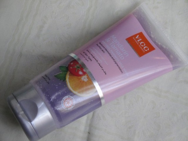 vlcc madarin tomato face wash