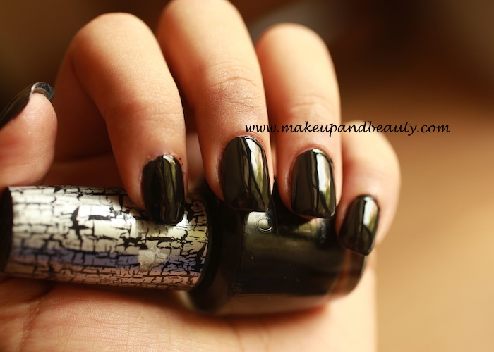 OPI Black Oynx nail polish