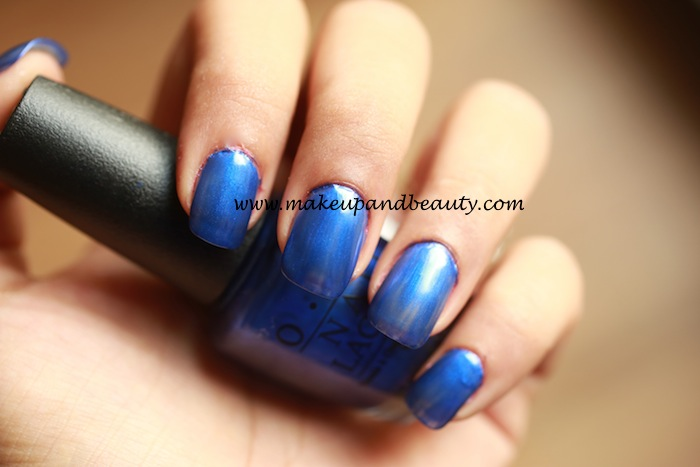 blue my mind OPI photos and swatches