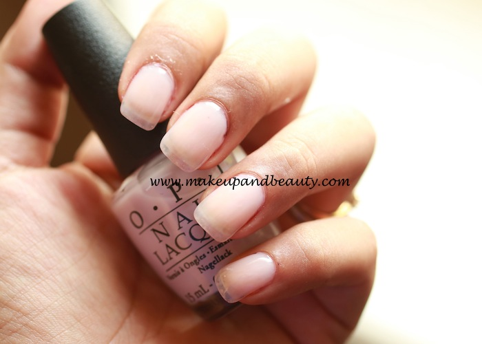 OPI care-to-dense? nail paint