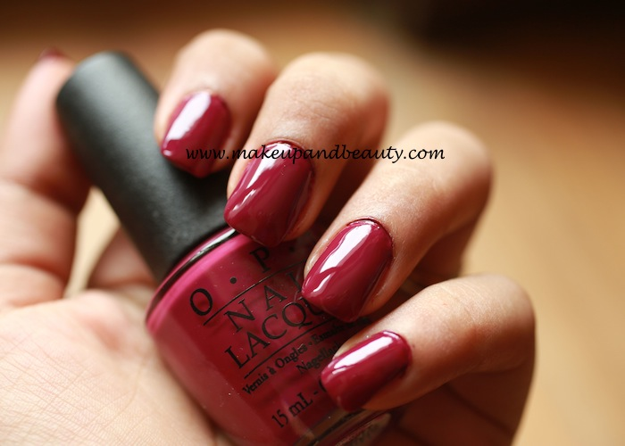 casino royale by OPI nail paints