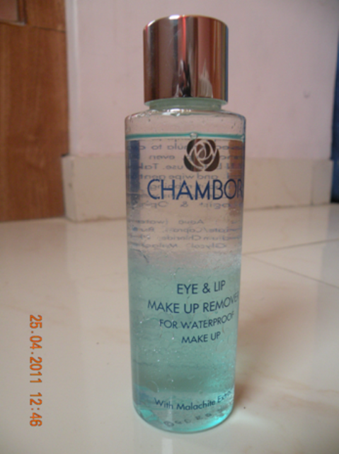 chambor eye makeup remover