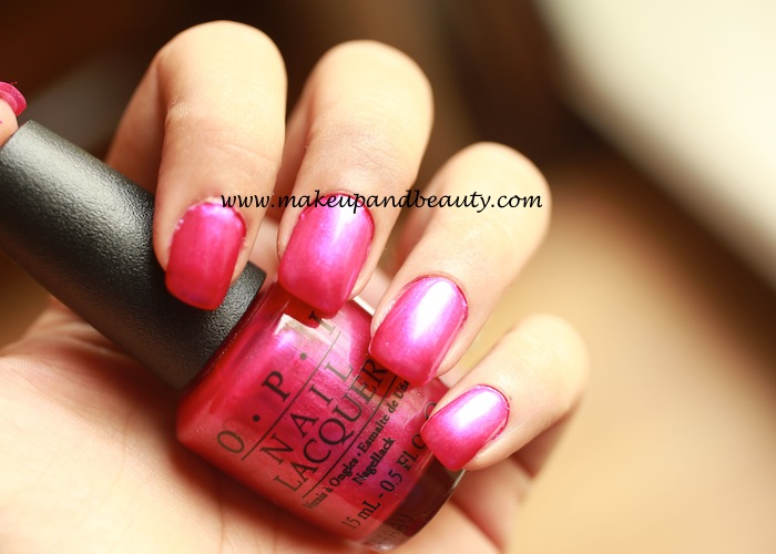 flashbulb fuchsia by OPI