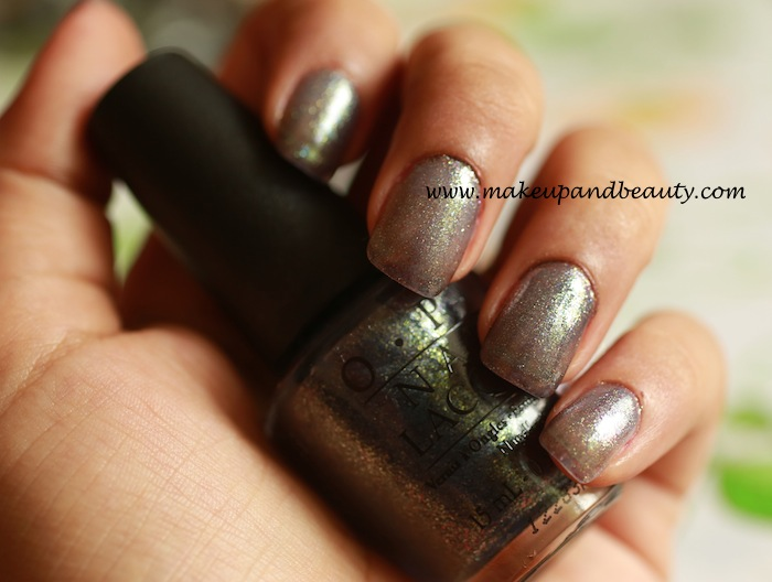OPI On Her Majesty's secret service nail paint