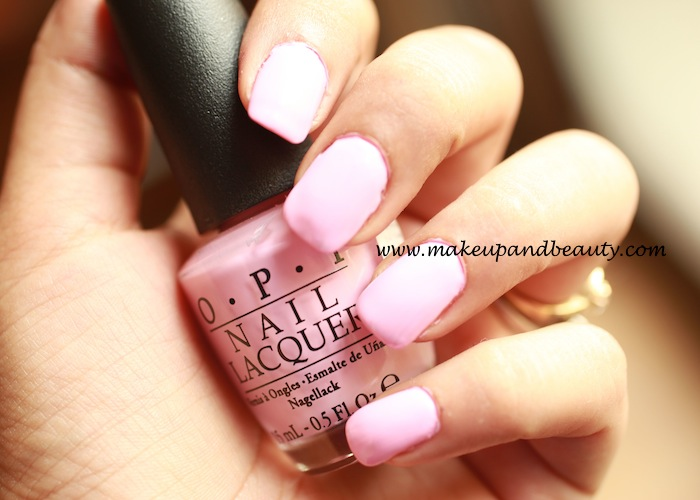 OPI pink friday Nail Polish photos, swatches