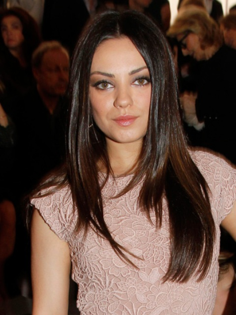 Luxury Favorite Celebrities Straight Hairstyle