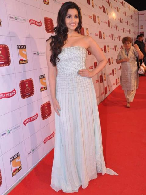 Alia Bhatt in gown