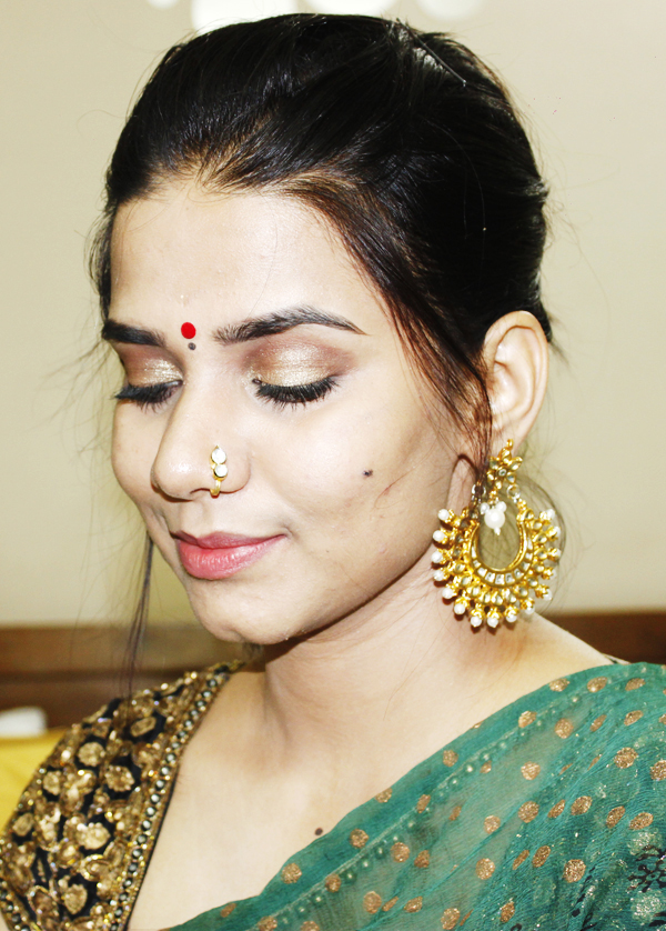 Indian makeup look