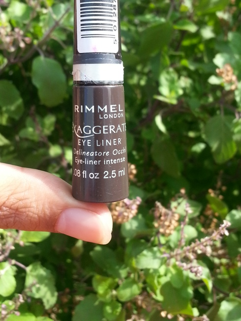 Rimmel London Exaggerate Eyeliner in Absolute Brown 2