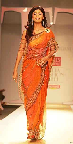 Shilpa Shetty in saree