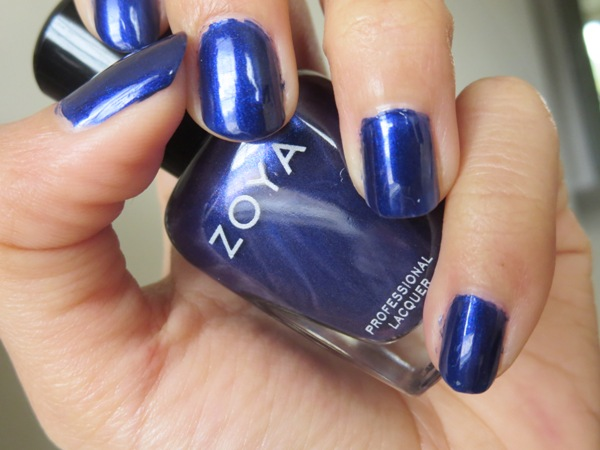 Zoya Blue Nail Polish