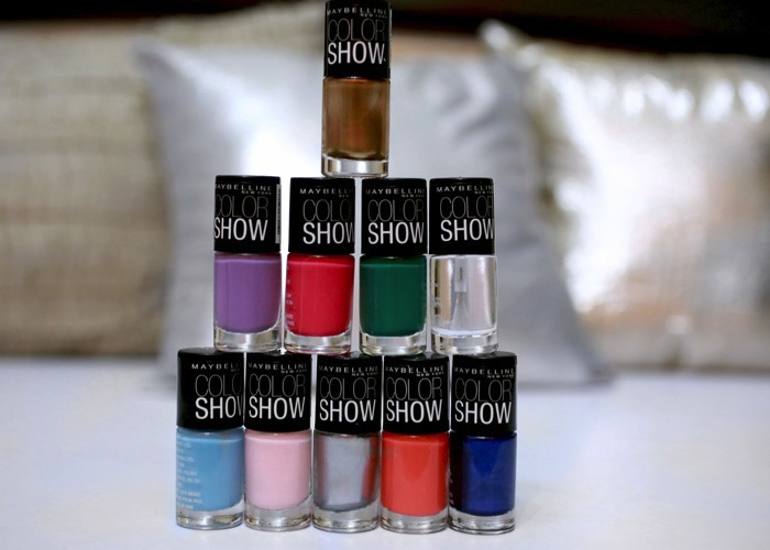 maybelline colorshow nail paints