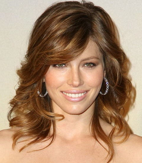 Best Hairstyle For Medium Length Thin Hair : Best hairstyles for fine thin hair with bangs
