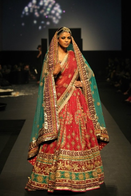 bridal outfits by ritu kumar