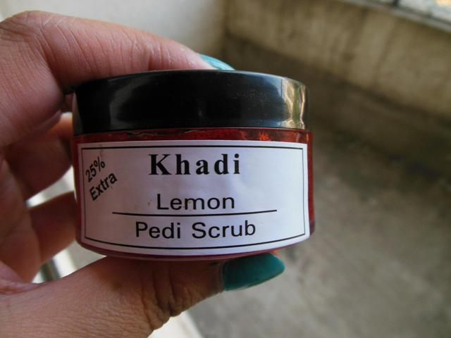 Khadi Lemon Pedi Scrub