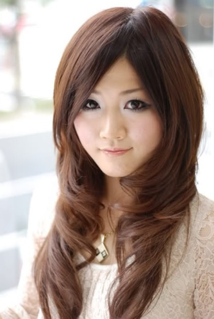 Long Hair Layered Front Hairstyles
