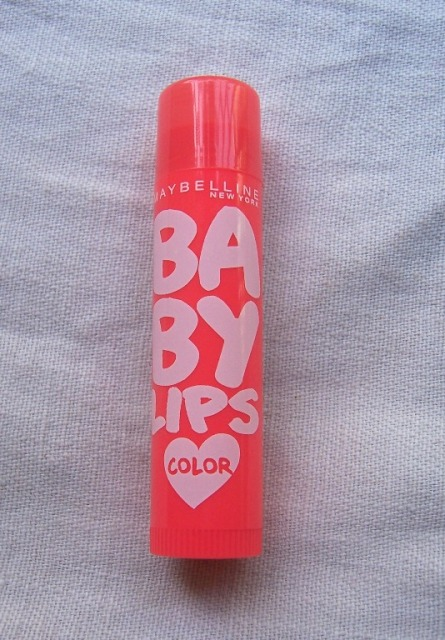 Maybelline Baby Lips Tangerine Pop 4