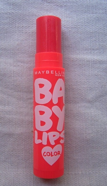 Maybelline Baby Lips Tangerine Pop 5