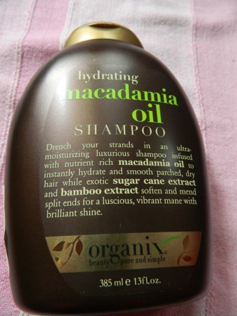 Organix+Hydrating+Macadamia+Oil+Shampoo+Review