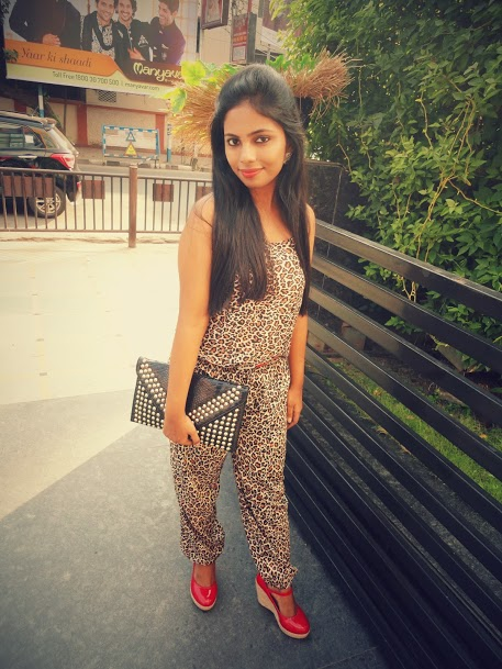 Outfit of the Day  Leopard Print Jumpsuit 3