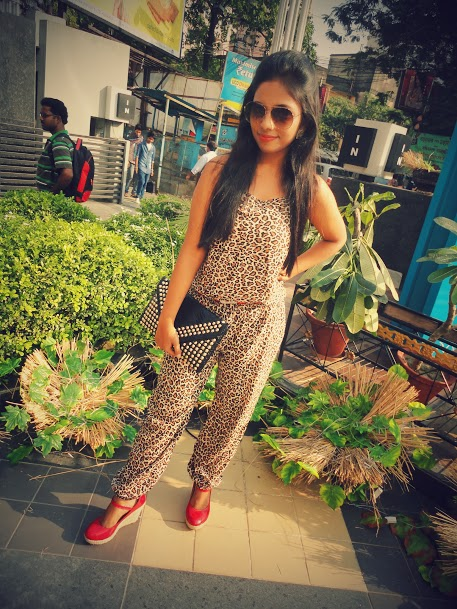 Outfit of the Day  Leopard Print Jumpsuit 4