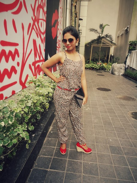 Outfit of the Day  Leopard Print Jumpsuit 8