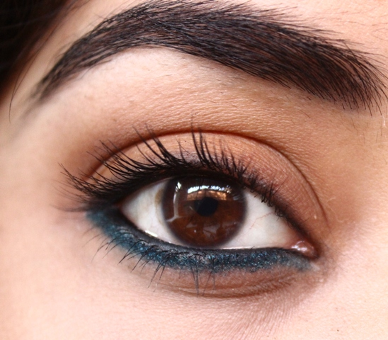 Touch Of Teal Eye Makeup Tutorial