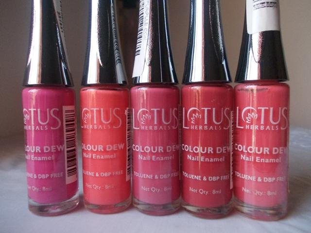5 Lotus Herbals Color Dew Nail Enamel (3)
