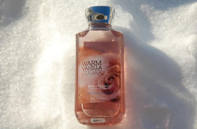 BathBody Works Warm Vanilla Sugar Shower Gel