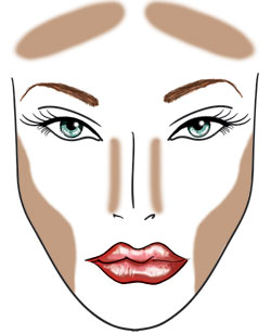 How To Make Your Face Thinner With Makeup 3