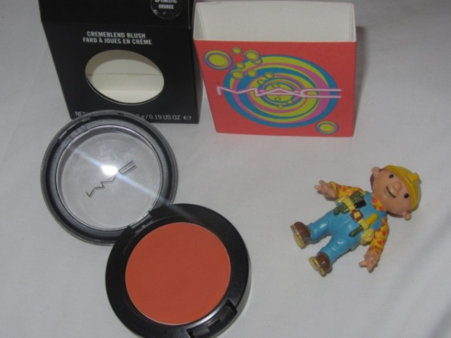 mac orange blush