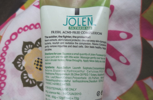 JolenNeem Face Wash with Revivo Exfoliators