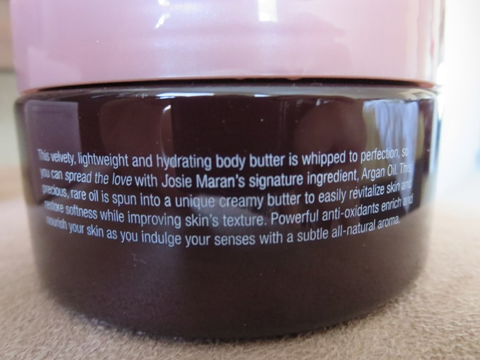 Josie Maran Whipped Argan Oil Body Butter 2