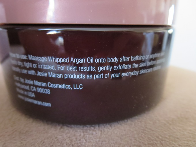 Josie Maran Whipped Argan Oil Body Butter 4