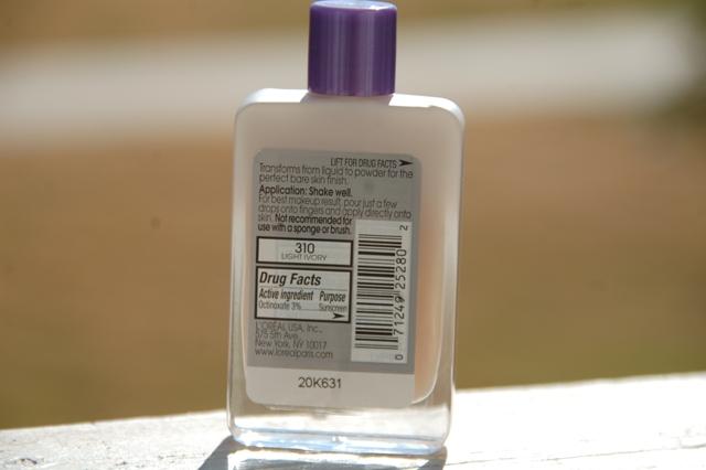 L'Oreal Paris Magic Nude Liquid Powder2