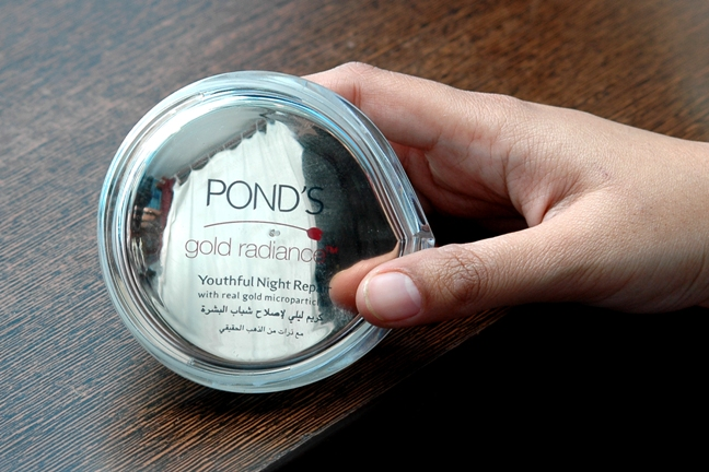 Pond's+Gold+Radiance+Youthful+Night+Repair+Cream+Review